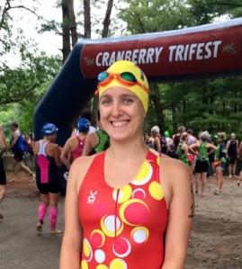 Sarah at Cranberry Olympic 2015