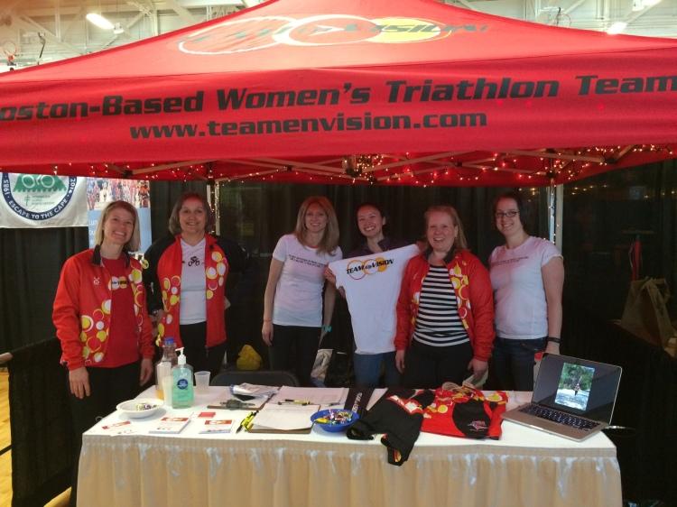 Team EnVision Ladies at TRI-MANIA 2016