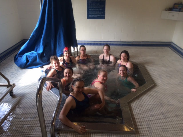 Hot Tub Time at Training Weekend 2016