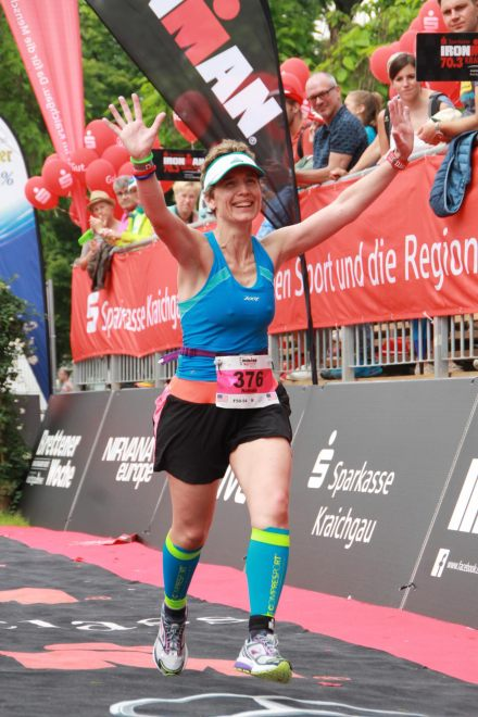 Nathalie A at 70.3 Kraichgau 2016