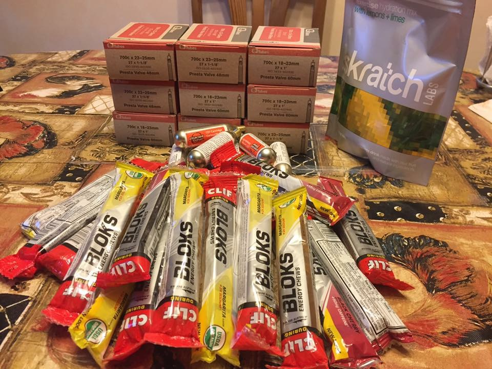 Ride Studio Cafe Generously Donated Nutrition & Supplies for Training Weekend 2016