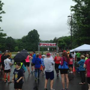Worcester Tri-Fest 2016 Finish Line